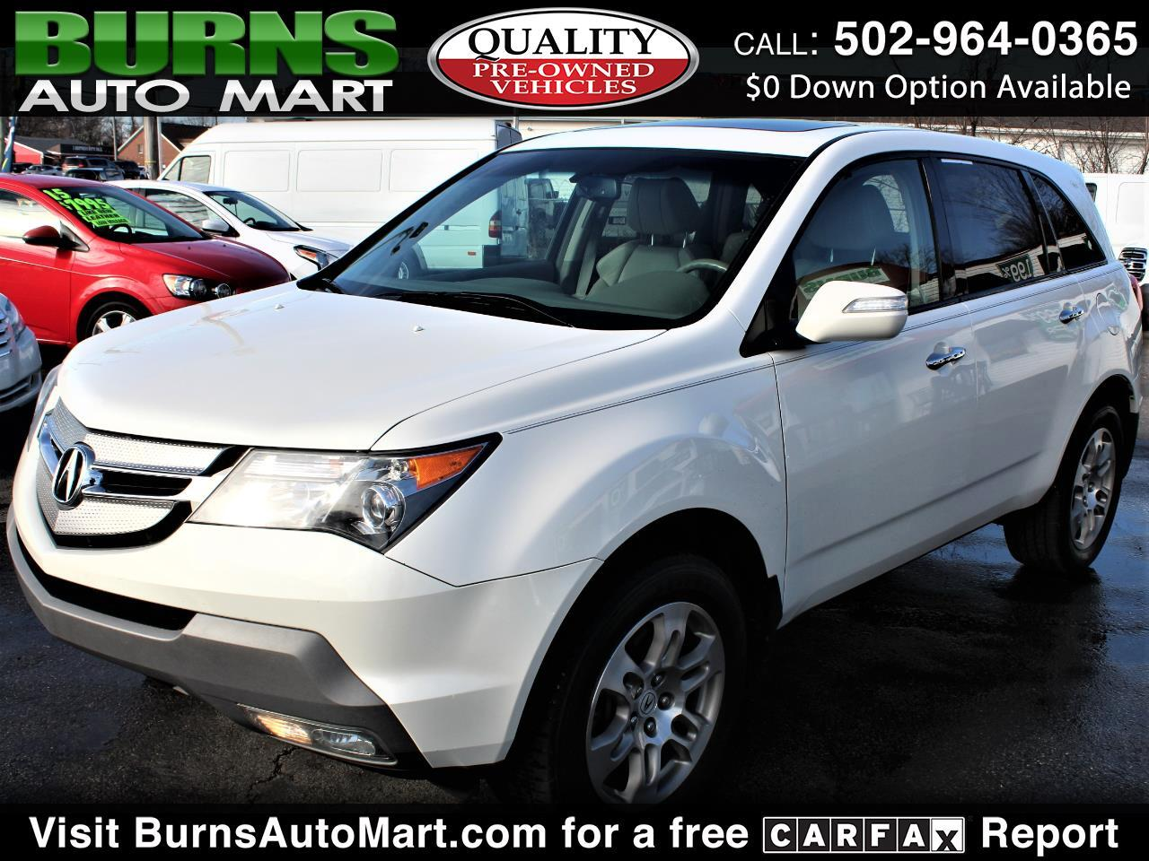 Acura MDX SH-AWD 4dr w/Advance 2009