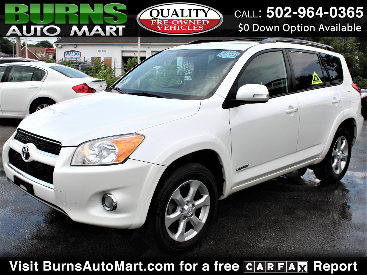 Toyota RAV4 4WD 4dr 4-cyl 4-Spd AT Ltd (Natl) 2010