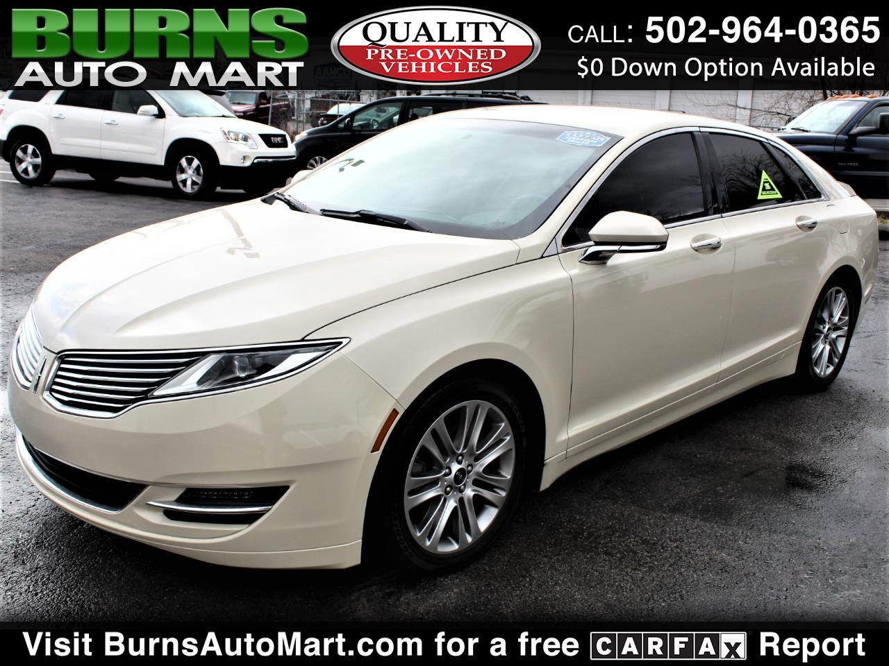 Lincoln MKZ Select FWD 2014