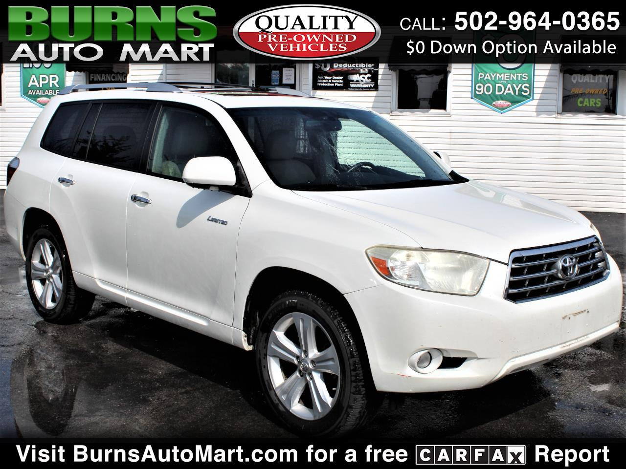 Toyota Highlander Limited V6 4WD 2008