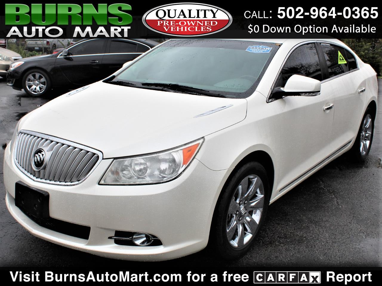 Buick LaCrosse Premium Package 1, w/Leather 2011