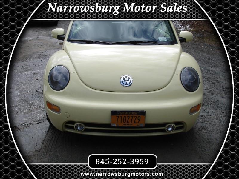 Volkswagen New Beetle GLS 2.0L Convertible 2004