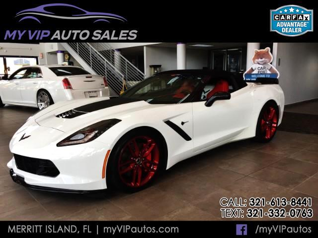 2015 Chevrolet Corvette Z51 3LT Convertible