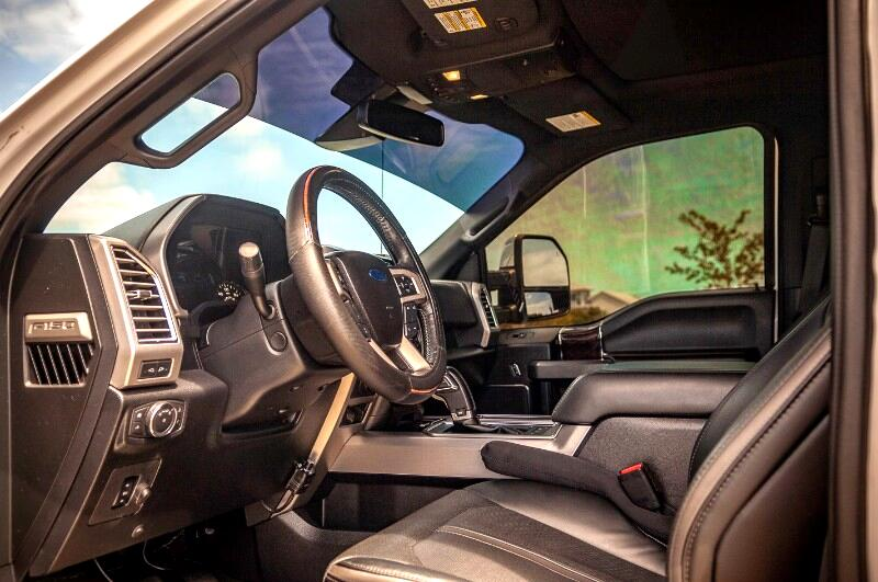 "Ford F-150 4WD SuperCrew 157"" Platinum 2016"
