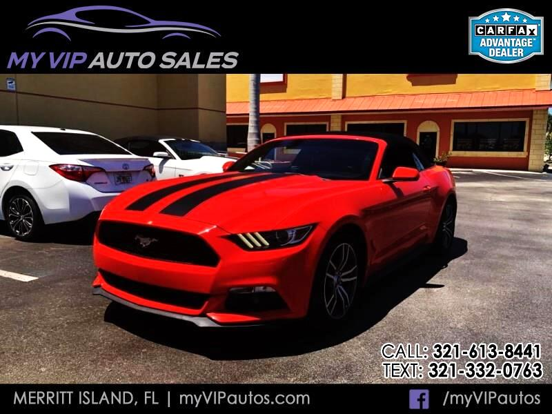 2016 Ford Mustang EcoBoost Premium Convertible