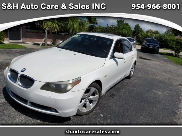 Used 2005 Bmw 525i For Sale In Ft Lauderdale Fl 33312 Sh Auto Care