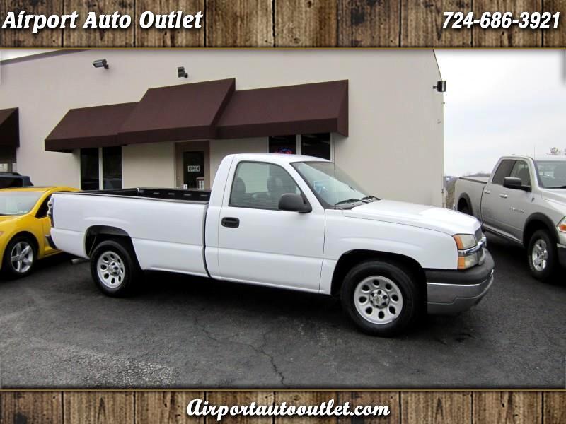 2005 Chevrolet Silverado 1500 Work Truck Short Bed 2WD
