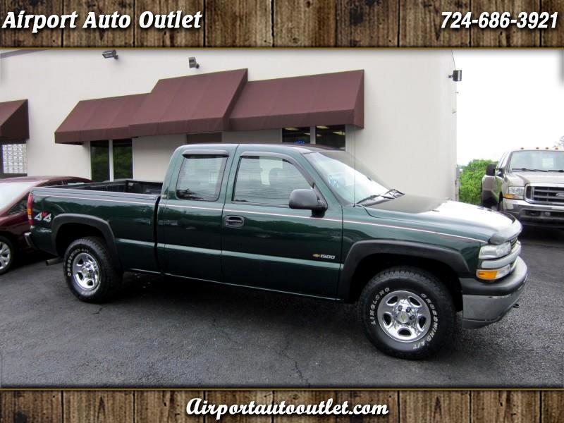 2002 Chevrolet Silverado 1500 Ext. Cab Short Bed 4WD