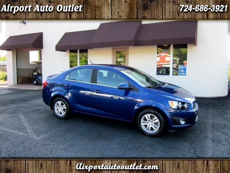 2014 Chevrolet Sonic LT Manual Sedan