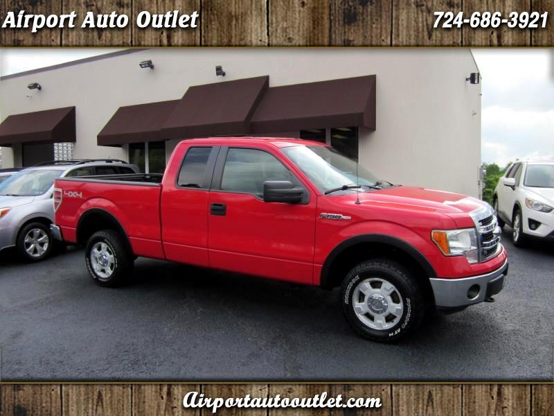 Ford F-150 XLT SuperCab 6.5-ft. Bed 4WD 2013