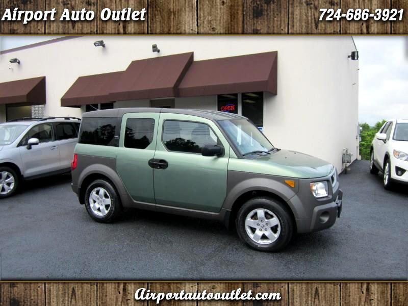 Honda Element EX 4WD w/ Front Side Airbags 2004