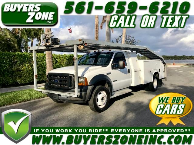 2007 Ford F-550 Regular Cab 2WD DRW