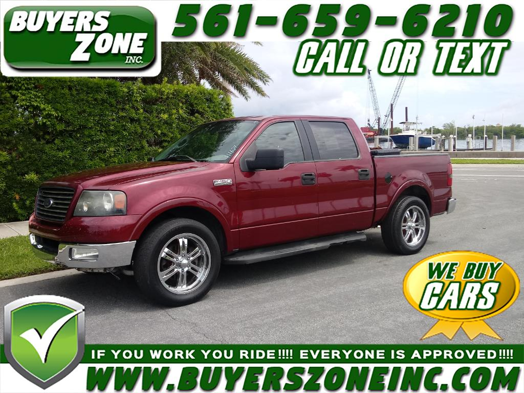 2005 Ford F-150 2WD Supercab 133