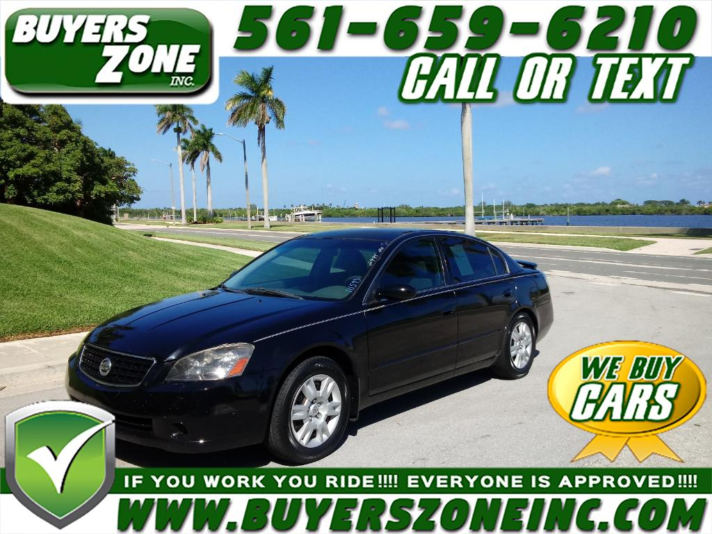 buy here pay here 2005 nissan altima 4dr sdn i4 auto 2 5 s for sale in west palm beach fl 33405. Black Bedroom Furniture Sets. Home Design Ideas