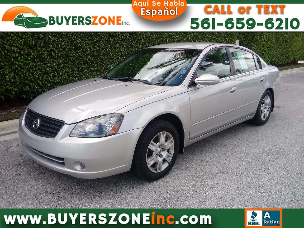 2006 Nissan Altima 4dr Sdn I4 Manual 2.5 S