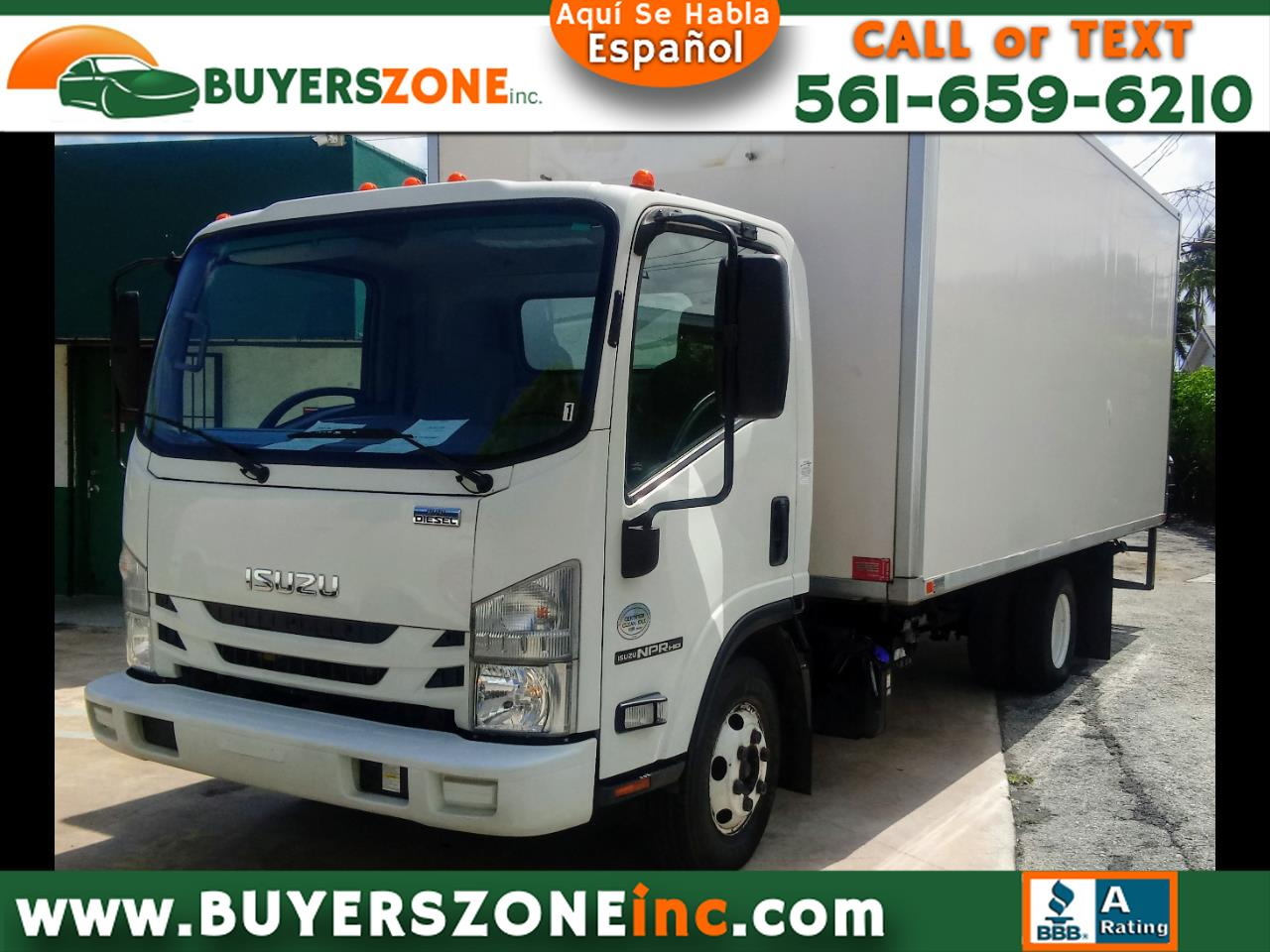 "2016 Isuzu NPR DSL REG AT 109"" WB RED CAB IBT AIR PWL"