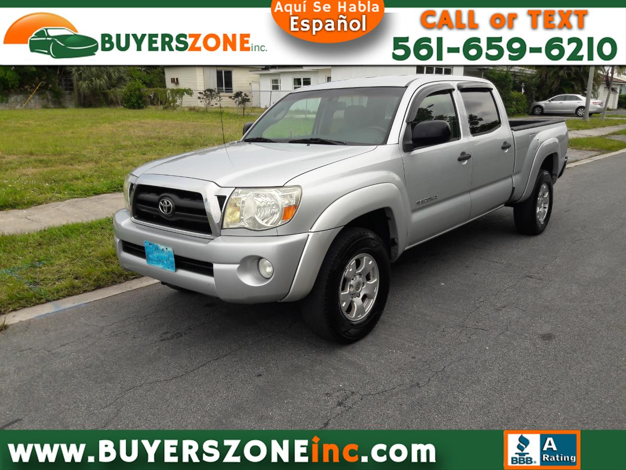 2008 Toyota Tacoma 4WD Dbl LB V6 AT (Natl)