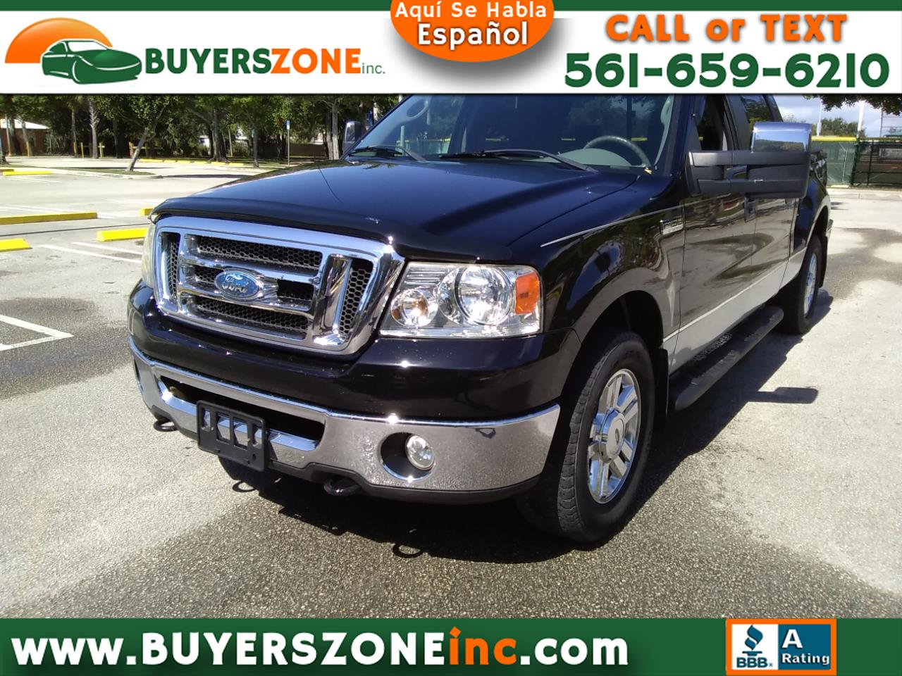 "2008 Ford F-150 4WD SuperCrew Flareside 150"" FX4"