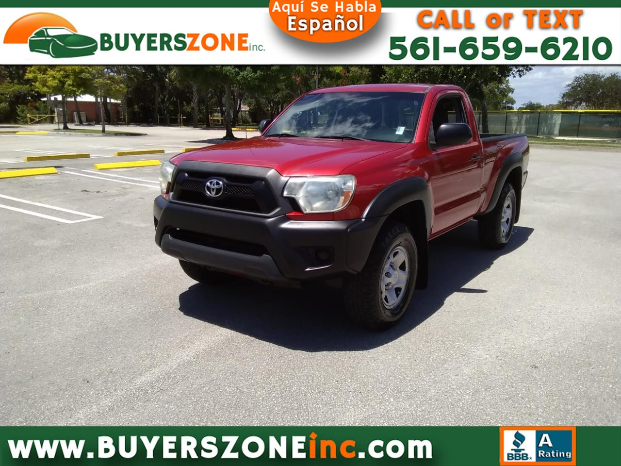 2012 Toyota Tacoma 4WD Reg Cab I4 AT (Natl)