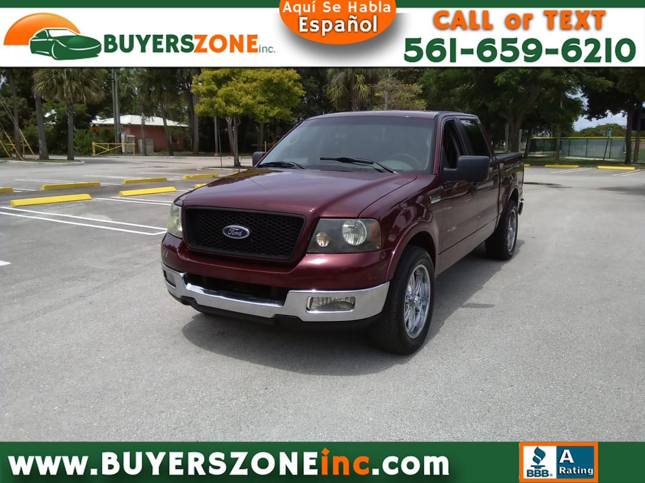 """2005 Ford F-150 SuperCrew 139"""" King Ranch"""