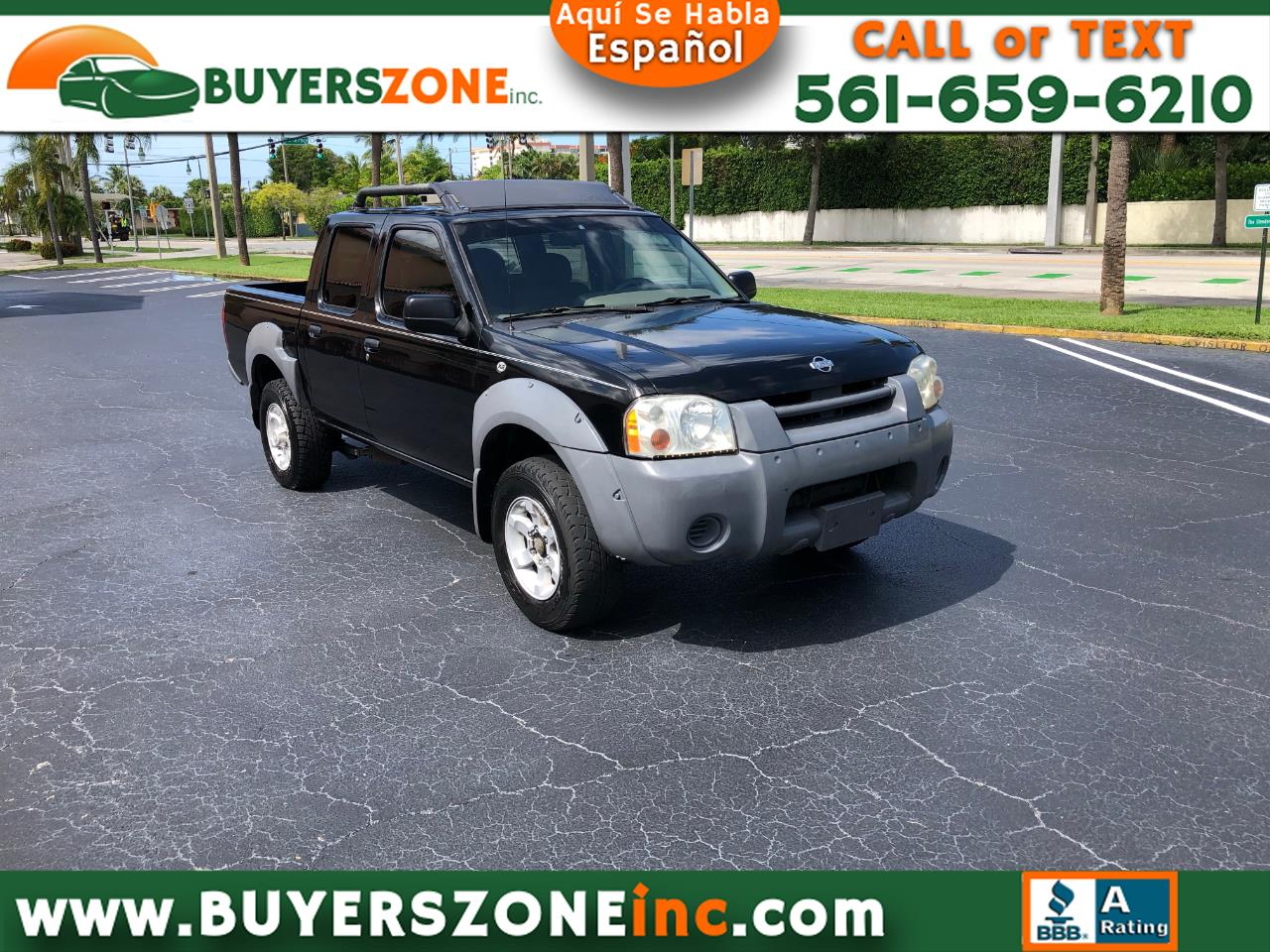 2001 Nissan Frontier 2WD XE Crew Cab V6 Auto