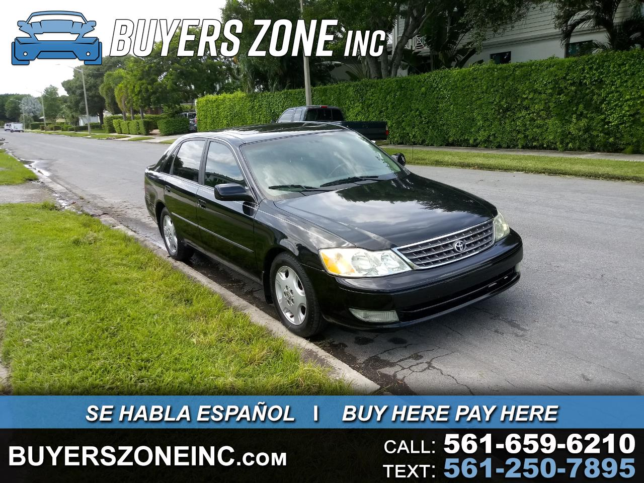 Toyota Avalon 4dr Sdn XLS w/Bench Seat (Natl) 2003