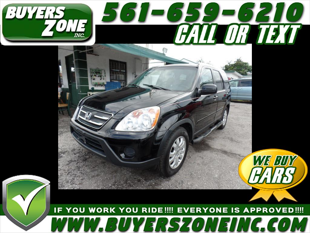 buy here pay here 2005 honda cr v se 4wd at for sale in west palm beach fl 33405 buyers zone inc. Black Bedroom Furniture Sets. Home Design Ideas