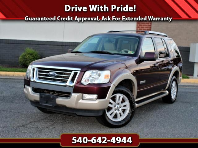 2007 Ford Explorer Eddie Bauer 4WD, DVD, Third Row