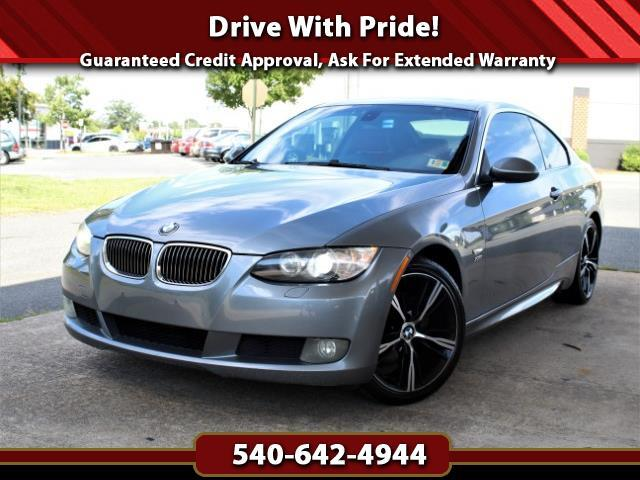 2007 BMW 3-Series 328xi Coupe w/Red Interior