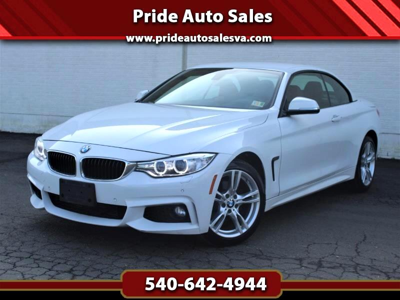 2015 BMW 4-Series 428i xDrive SULEV Convertible w/Red Interior