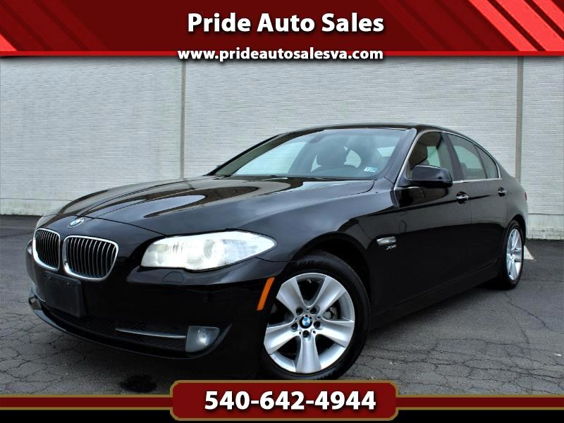 2012 BMW 5-Series 528i xDrive w/Cinnamon Brown Leather