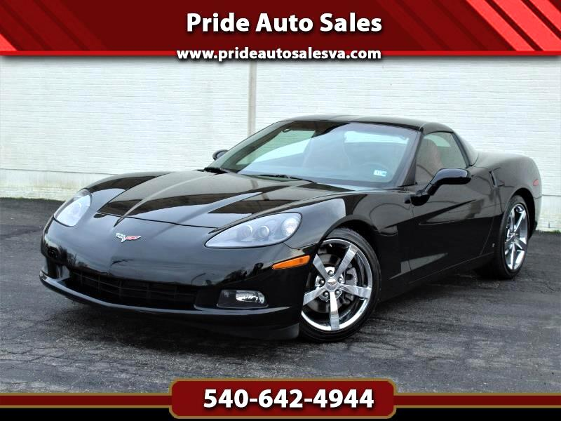 2009 Chevrolet Corvette Coupe LT3 w/Red Interior