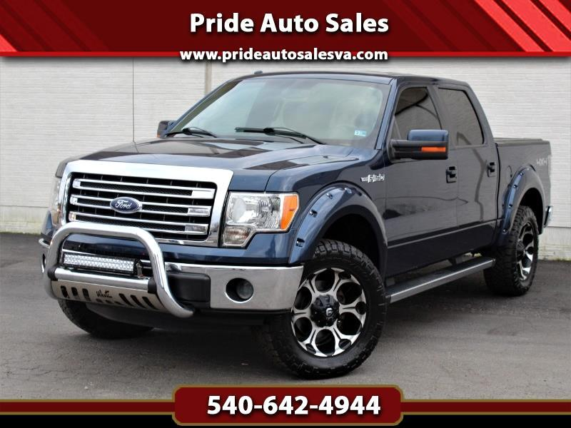 2013 Ford F-150 Lariat SuperCrew 4WD Custom