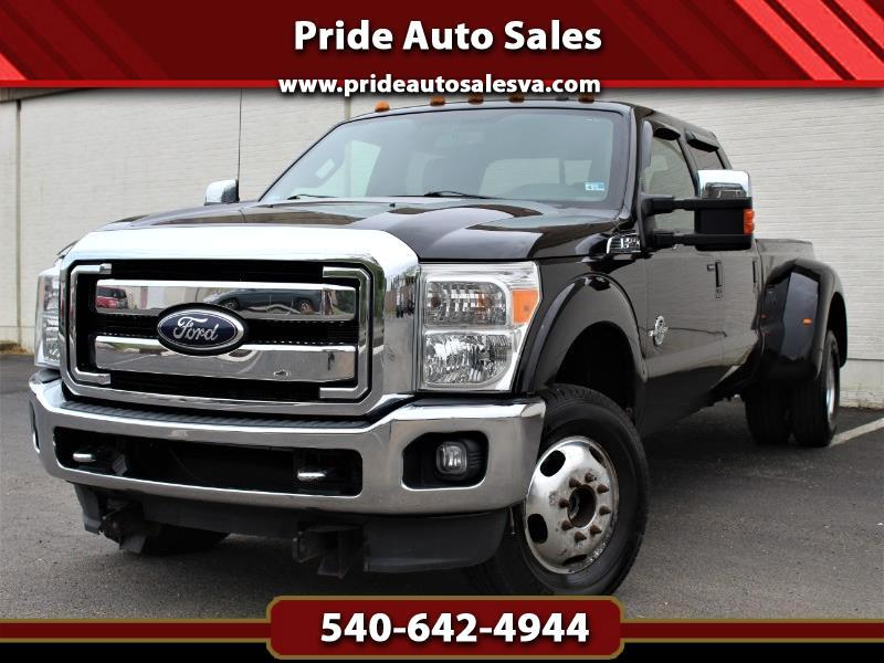 2011 Ford F-350 SD Lariat Crew Cab Long Bed DRW 4WD