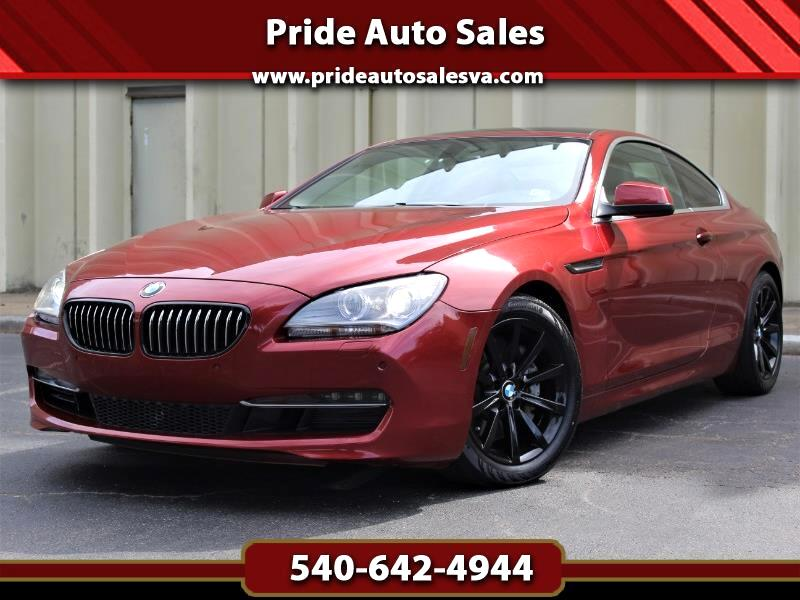 2015 BMW 6-Series 640i xDrive Coupe
