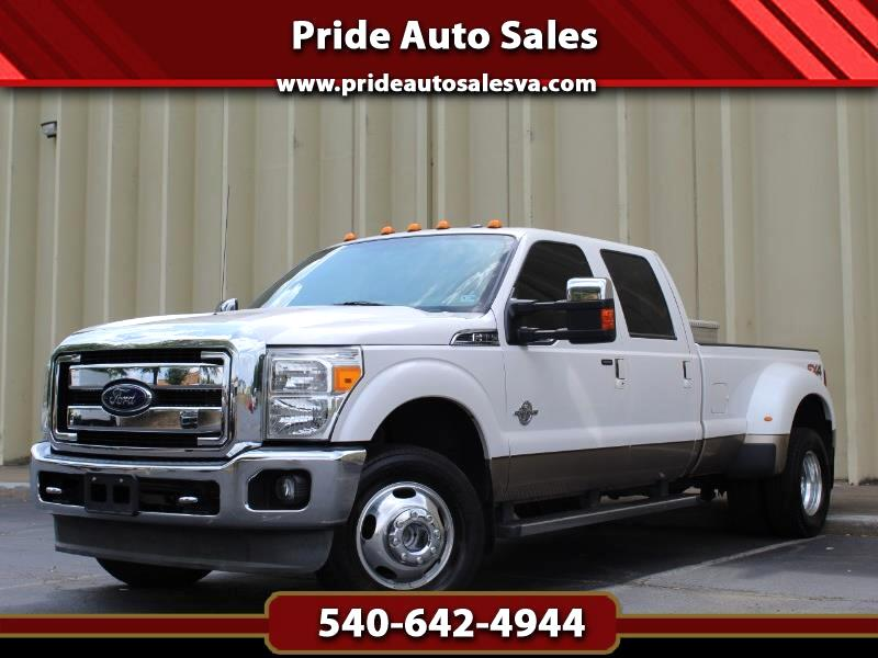 2013 Ford F-350 SD King Ranch Crew Cab Long Bed DRW 4WD