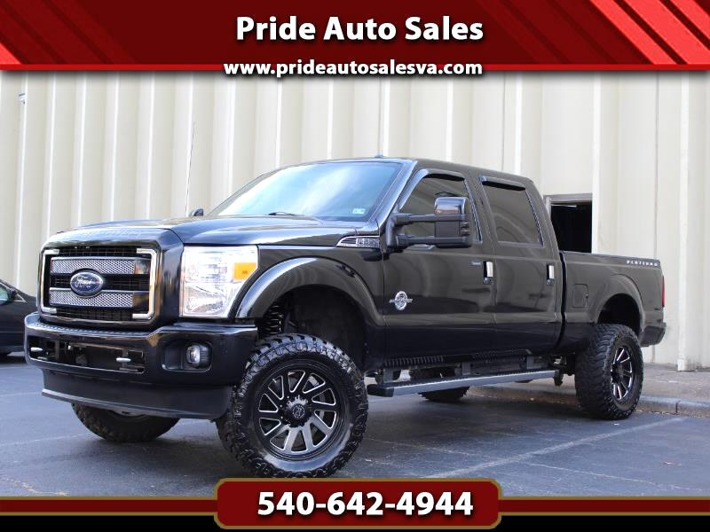 Ford F-250 SD Platinum 2014