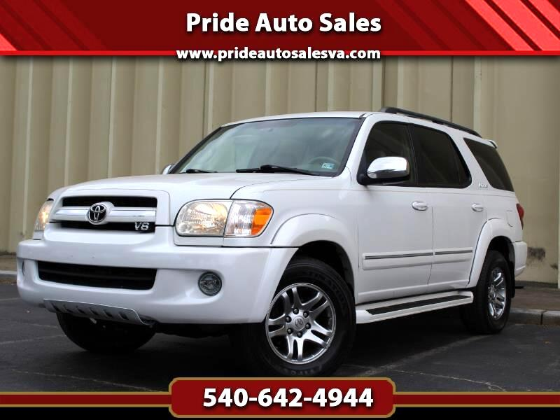 Toyota Sequoia Limited 4WD 2007