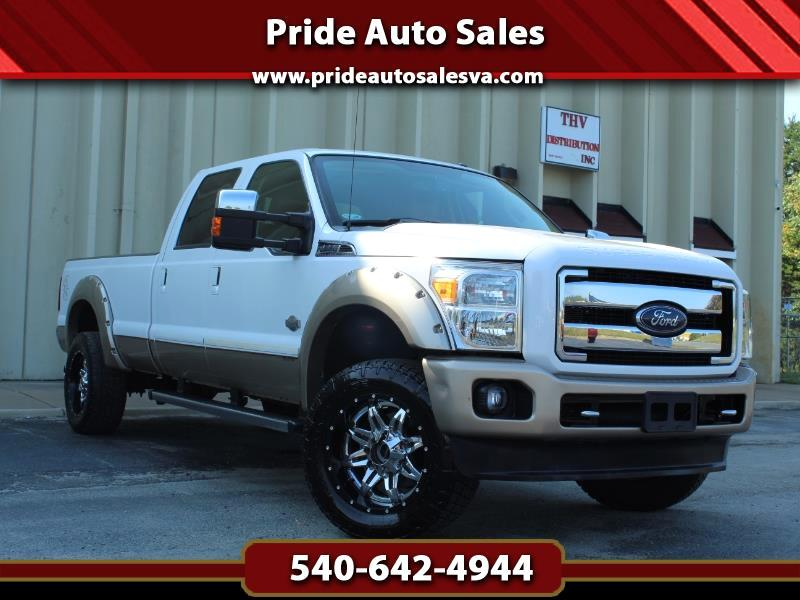 Ford F-250 SD King Ranch Crew Cab Long Bed 4WD 2014