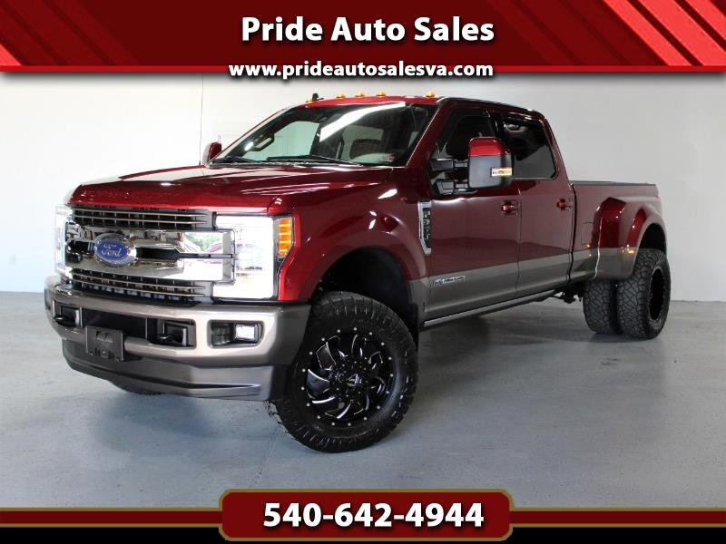 Ford F-350 SD King Ranch Crew Cab Long Bed DRW 4WD 2019