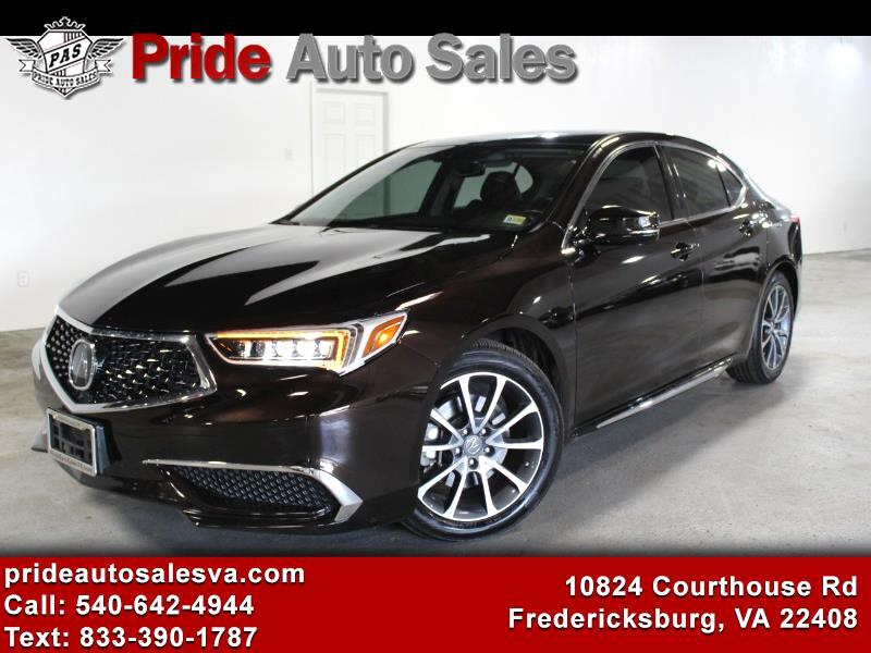 Acura TLX 9-Spd AT SH-AWD w/Technology Package 2018