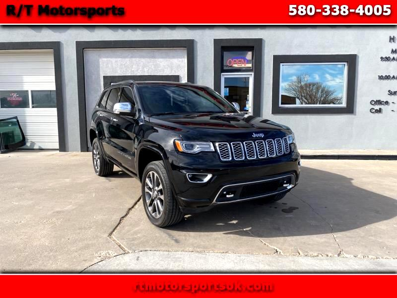 Jeep Grand Cherokee Overland 4WD 2017