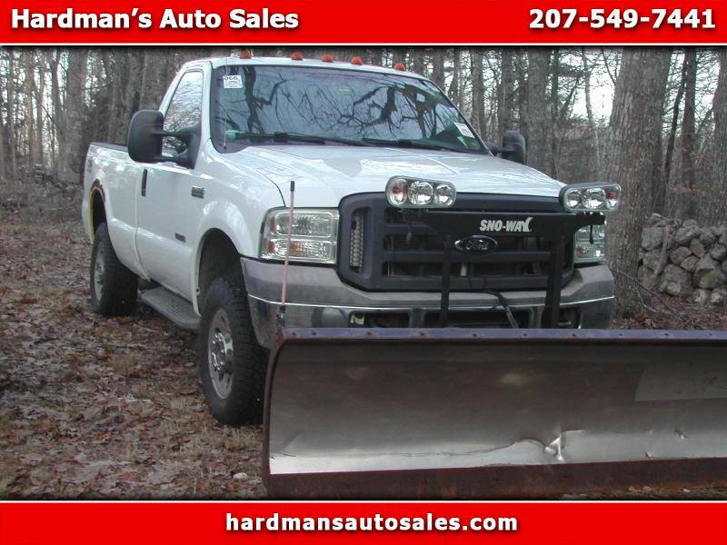"2005 Ford Super Duty F-250 Reg Cab 137"" XLT 4WD"
