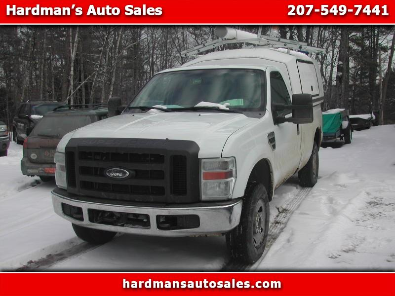 2008 Ford Super Duty F-250 SRW 4WD Reg Cab 137