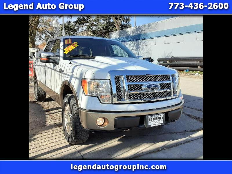 Ford F-150 King Ranch SuperCrew 6.5-ft. Bed 4WD 2011