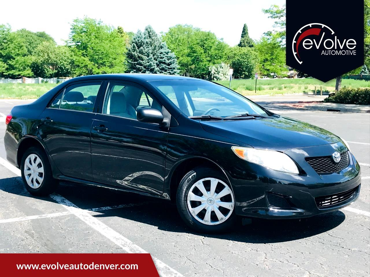 2009 Toyota Corolla S 5-Speed MT