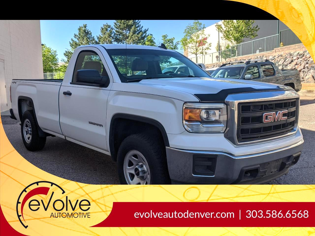 GMC Sierra 1500 Base Long Box 4WD 2015