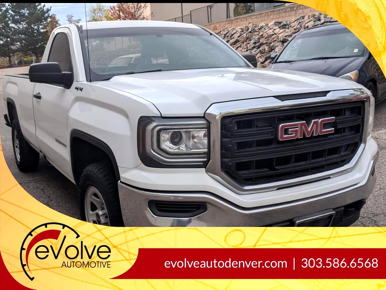 GMC Sierra 1500 Base Long Box 4WD 2016