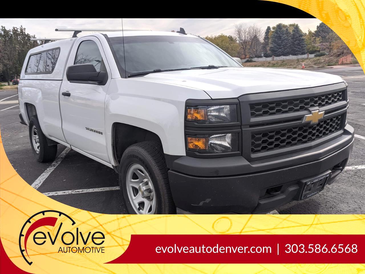 Chevrolet Silverado 1500 Work Truck Short Box 4WD 2015
