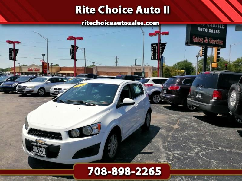 2013 Chevrolet Sonic LT Auto 5-Door